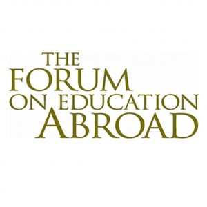 The Forum on Education Abroad logo