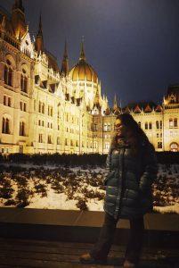 Erasmus student in Budapest