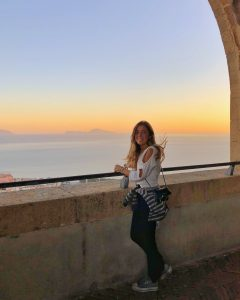 Erasmus student in Naples
