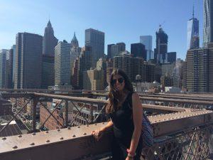 estudiante en Nueva York