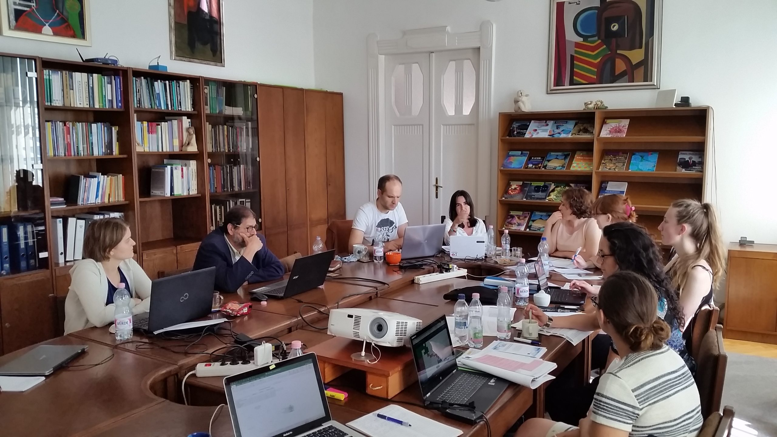 International Projects meeting
