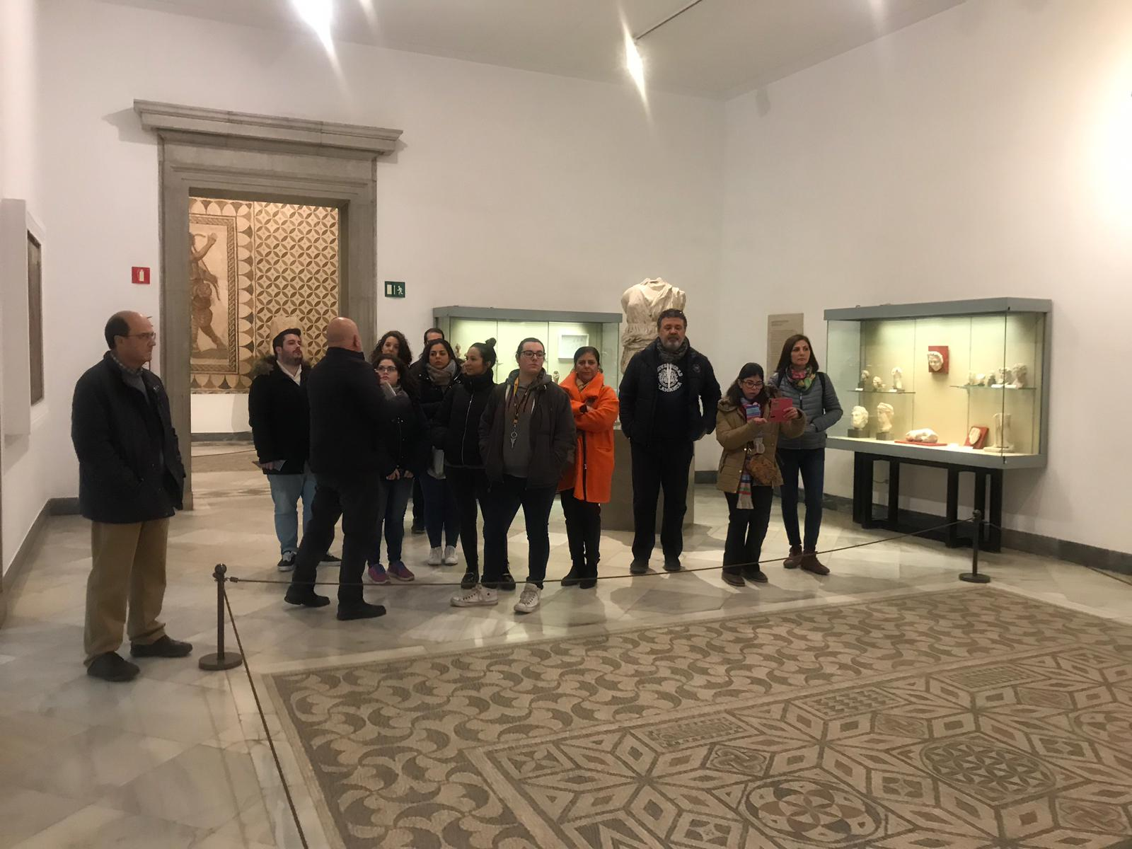 Visit to the Archeological Museum of Seville